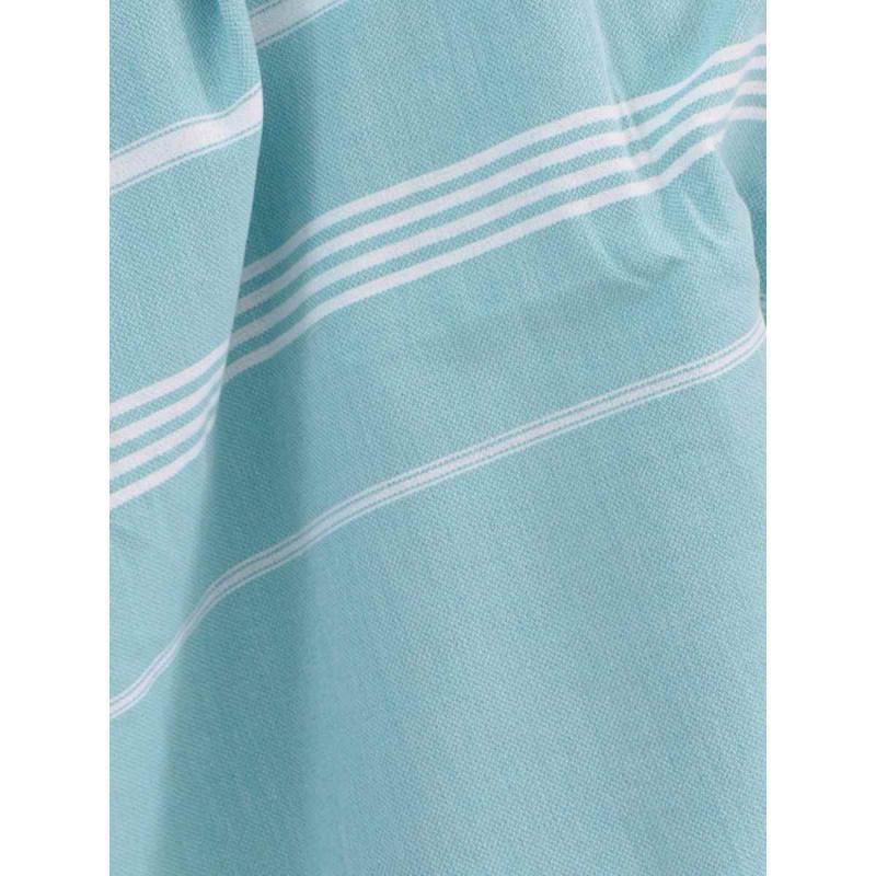 Extra stor hamam handduk De La Mer dark sea green