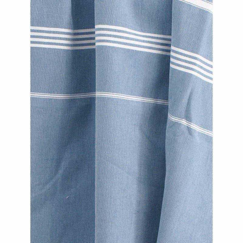 Extra stor hamam handduk denim blue