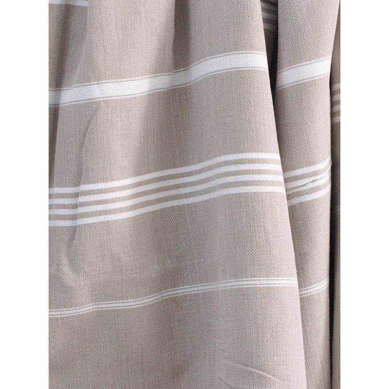 Extra stor hamam handduk De La Mer greige