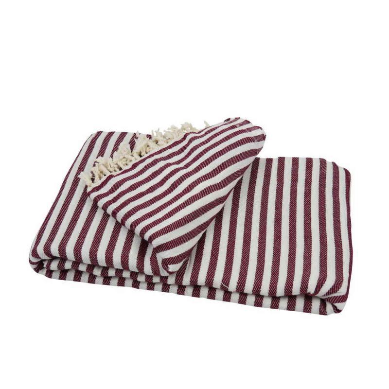 XXL beach towel blanket 220x260 bordeaux