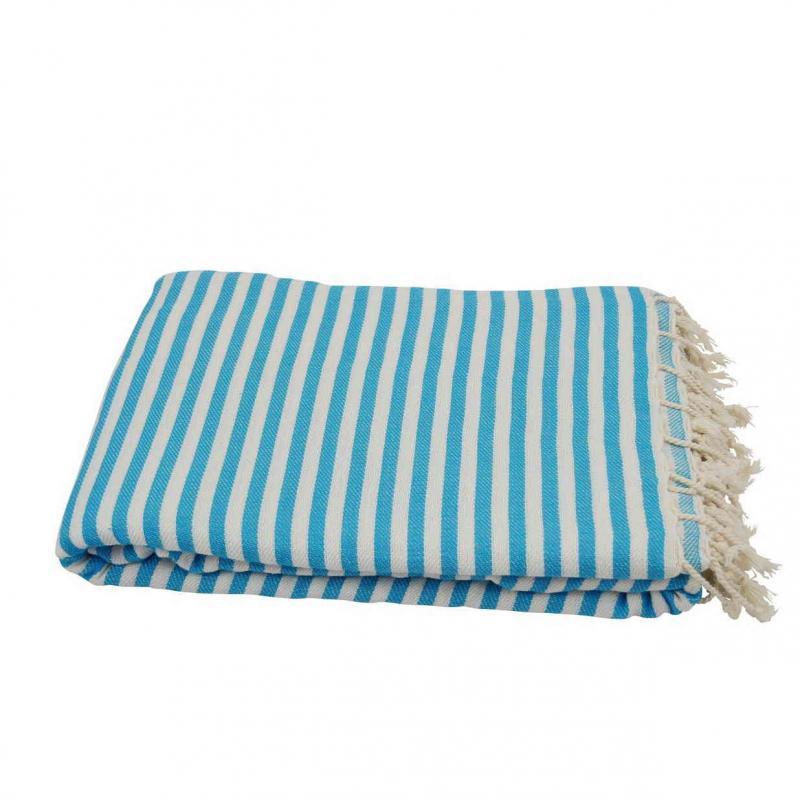XXL beach towel blanket 220x260 turquoise