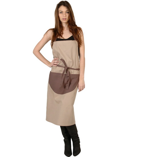 SENSEI Köksförkläde Dam Bicolore Ficelle Förkläde Matlagning