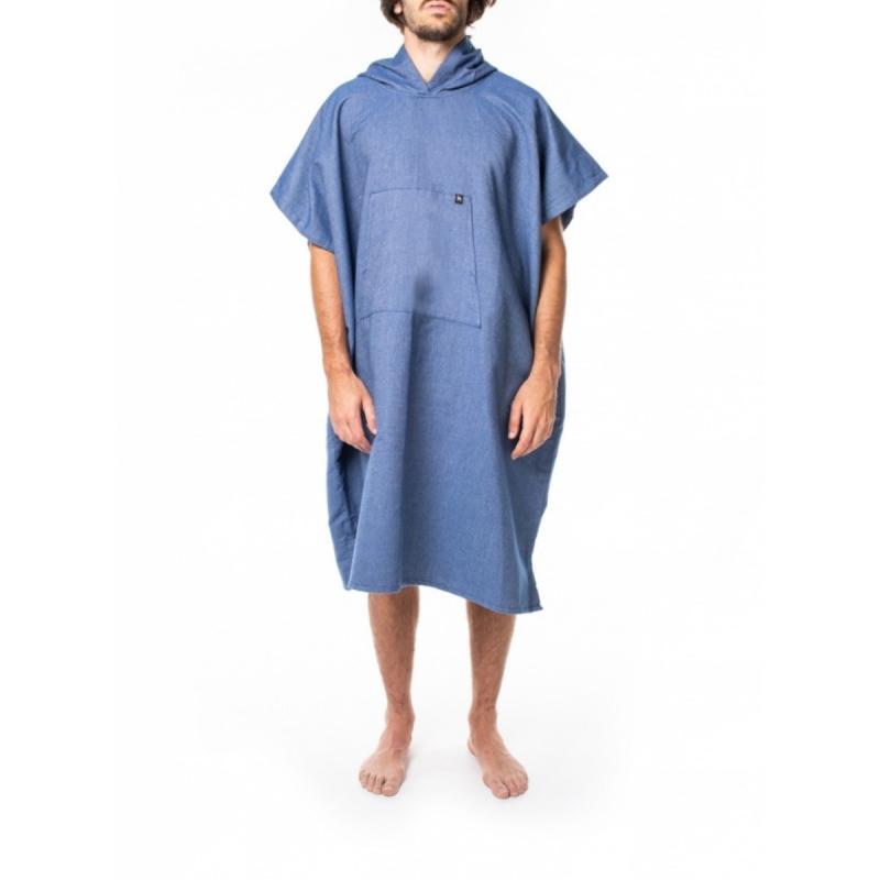 Poncho Ericeira blue