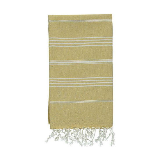 Turkish Towel Sultan 60x90 Mustard