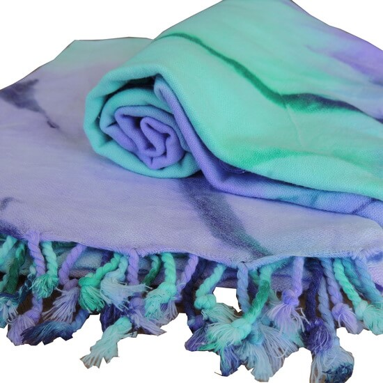 Hamam handduk Aramis Tie Dye 1 95x175 cm 100% Bomull
