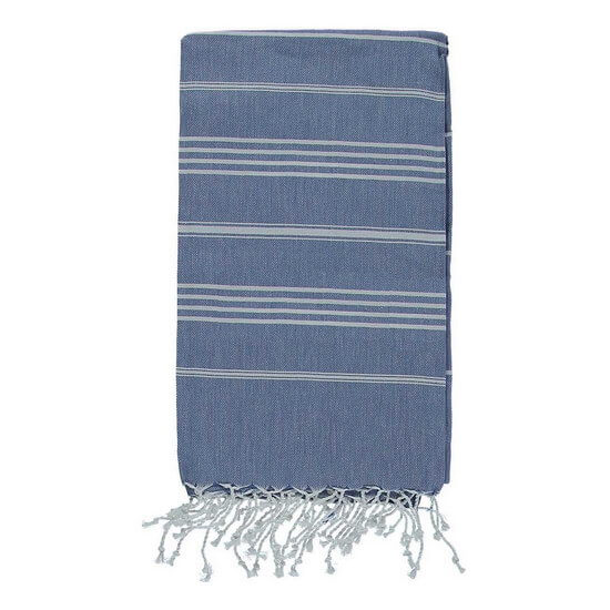 Turkish Towel De La Mer 45x90 Denim Blue