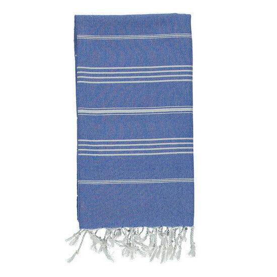 Turkish Towel De La Mer 45x90 Royal Blue