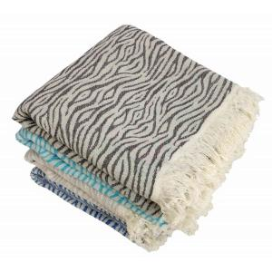 Hamam Handduk Zebra Charcoal