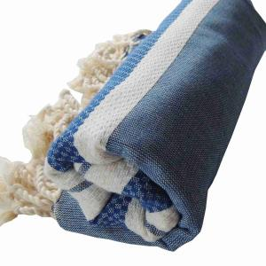 Hamam Handduk Marbella Blå