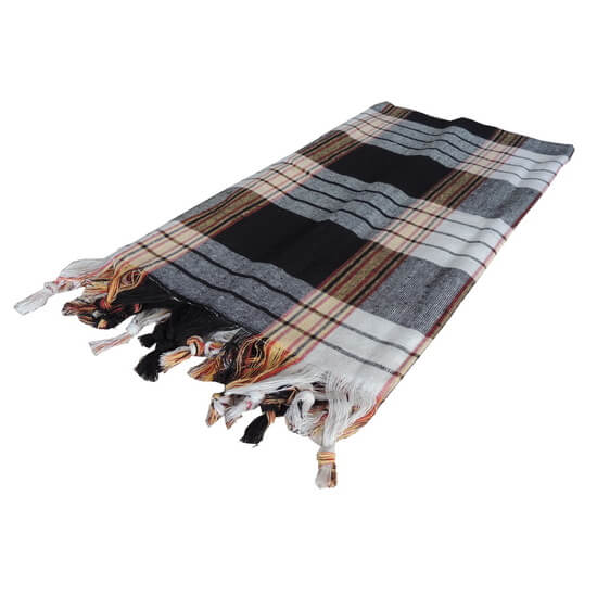 Turkish towel Traditional Black