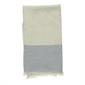 Hamam handduk Natur Marinblå Resehandduk Strandbadlakan Yoga handduk