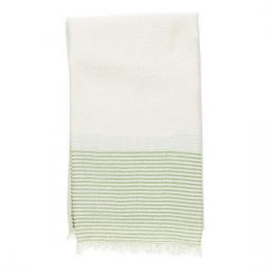 Hamam handduk Natur Olivgrön Resehandduk Strandbadlakan Yoga handduk