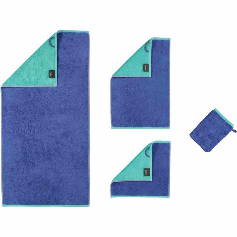 Towel Code Doubleface 114-14 saphir