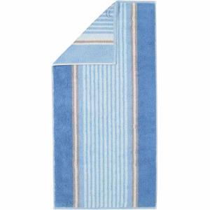 Handduk Florentine Streifen 197-11 blå