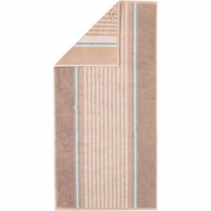 Handduk Florentine Streifen 197-33 sand
