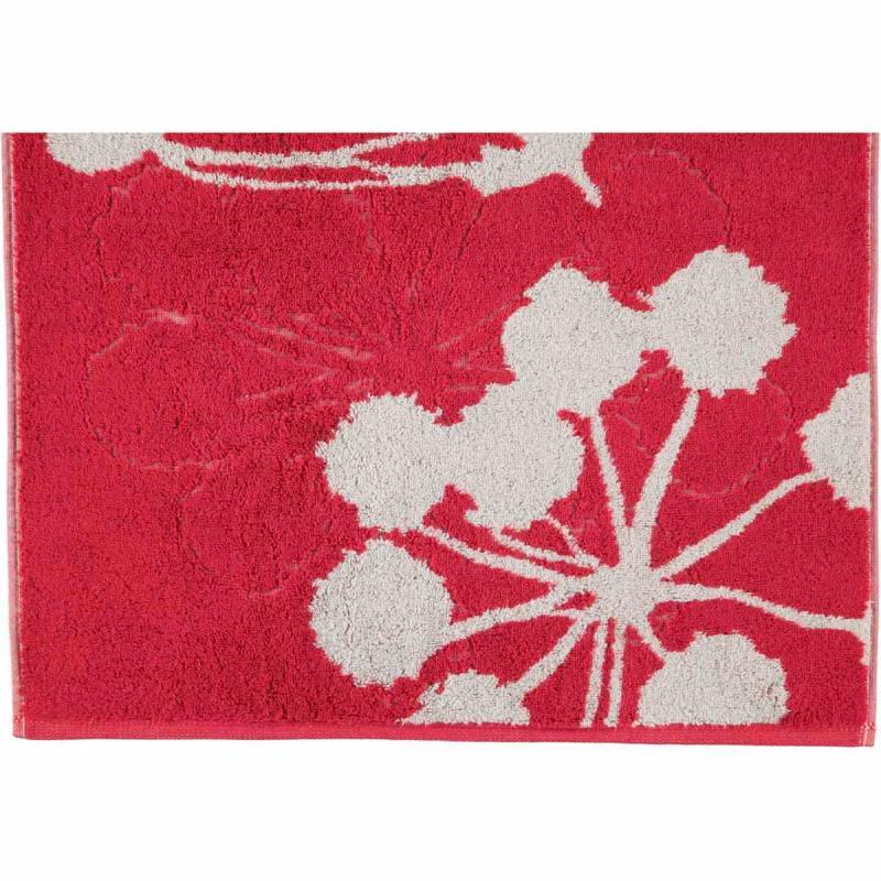 Handduk Cottage Floral 386-27 bordeaux
