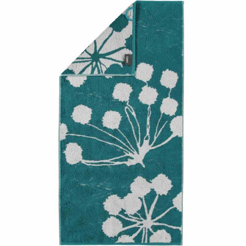 Handduk Cottage Floral 386-47 smaragd