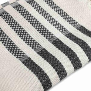 Elegant handvävd hamamhanduk Milano av 100% bomull 175x95 cm