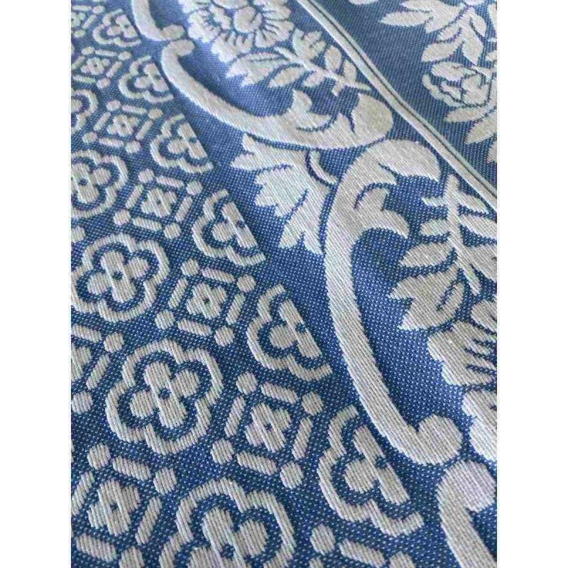 Bedspread INCE greek blue