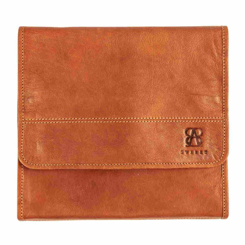Leather Toiletry Bag TAN