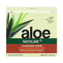 Cleansing Face Scrub Aloe