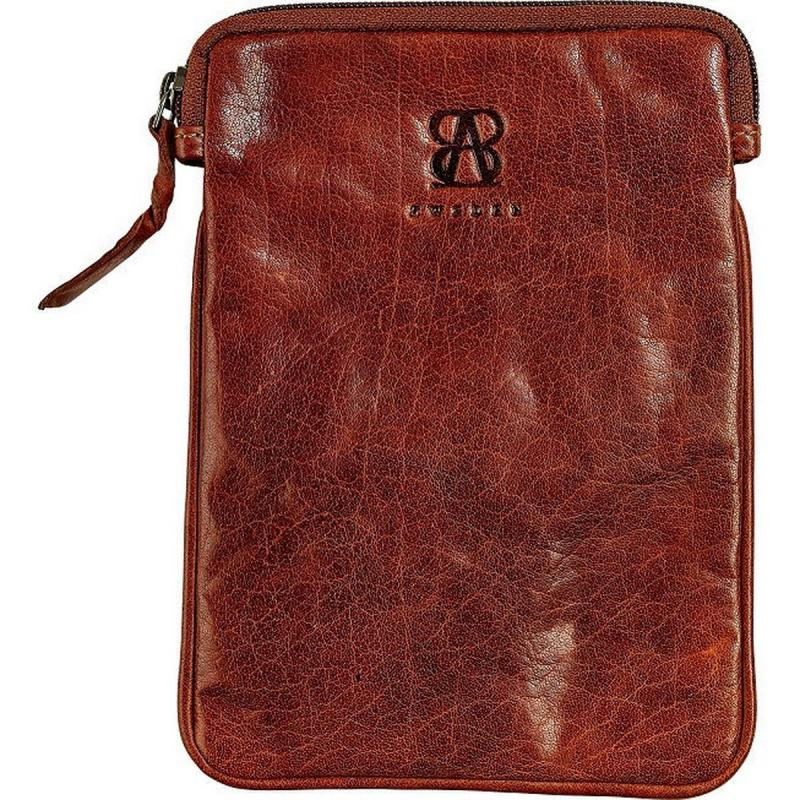Exclusive leather Ipad soft case from B away of waxed buffalo leather