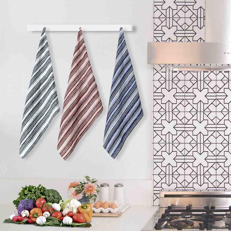 Set of 2 Tea towel Lin Lavé 50x70 TEKSADA GRAPHIC
