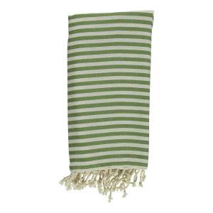 Turkish Towel Mediterranean Olive Green