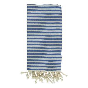 Turkish Towel Mediterranean Royal Blue