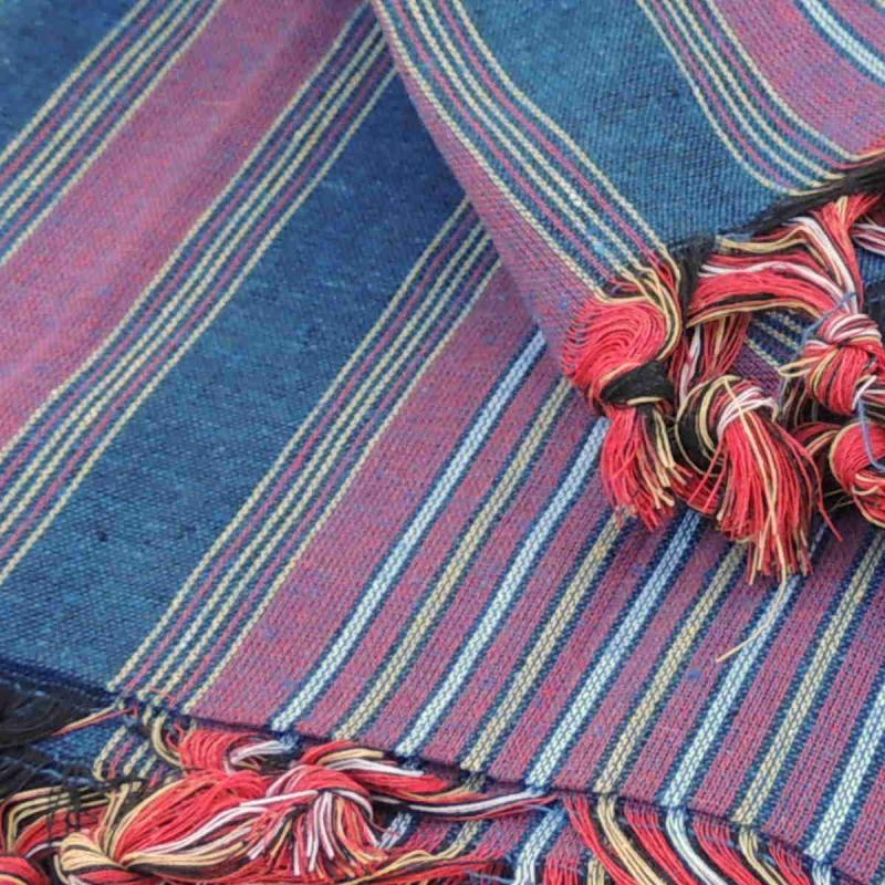Genuine Turkish Hammam Towel Kesan Blue 80x175