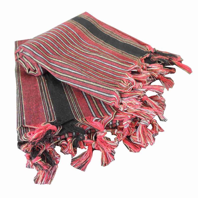 Genuine Turkish Hammam Towel Kesan Red 80x175