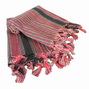 Äkta Turkisk Hamam Handduk Kesan Röd 80x175