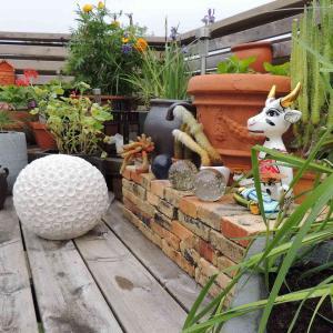 Lampa Coral Amazonit från By On och Yoga Cow Muni från Toms Drag. Köp online från casazeytin.se