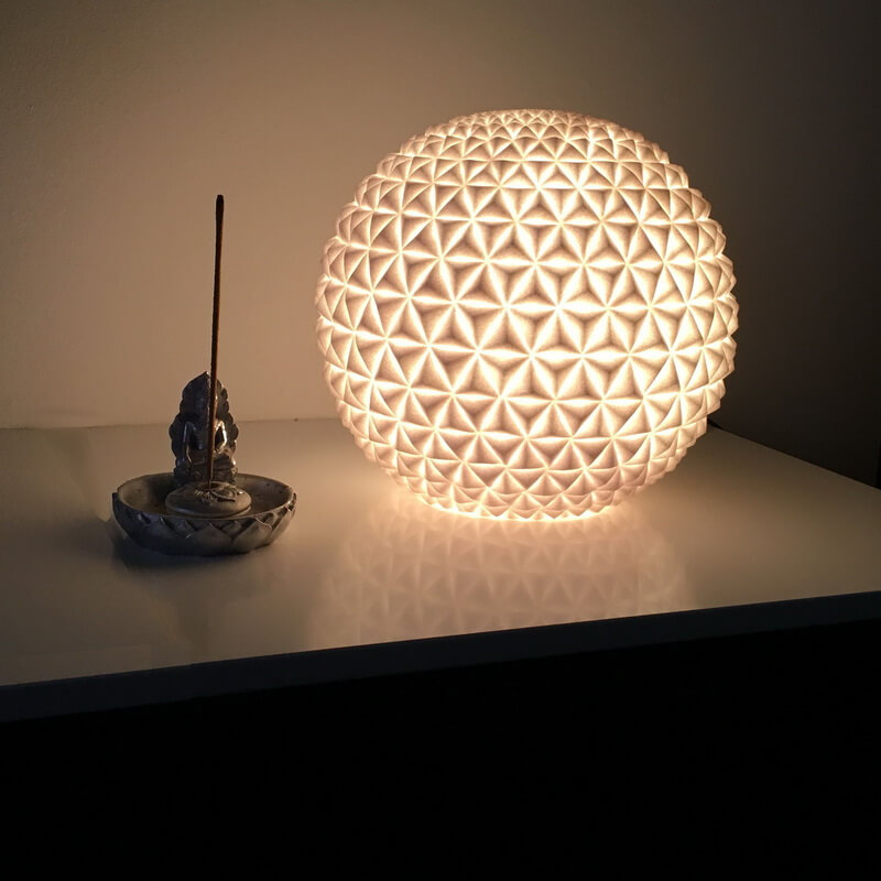 Lamp Globe 28X26. Design table lamp from ByOn.