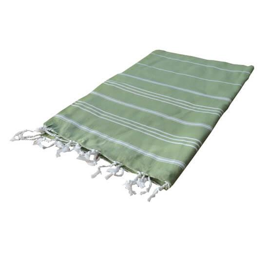 Turkish Towel Sultan 60x90 Olive Green
