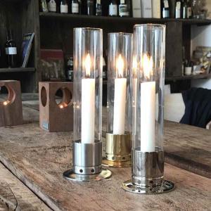 Ljusstake Kattvik borstad rostfritt stål