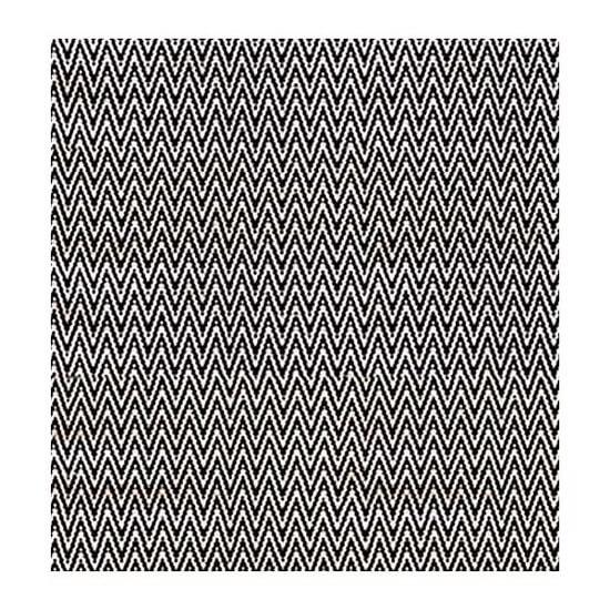 Matta LOZENGA 50x70, 70x150, 120x170 cm Svart Badrumsmatta Sovrumsmatta AKOUAREL
