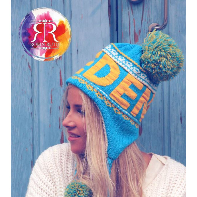 Buy a warm winter hat for the ski trip  We sell Robin-Ruth's popular,  affordable caps