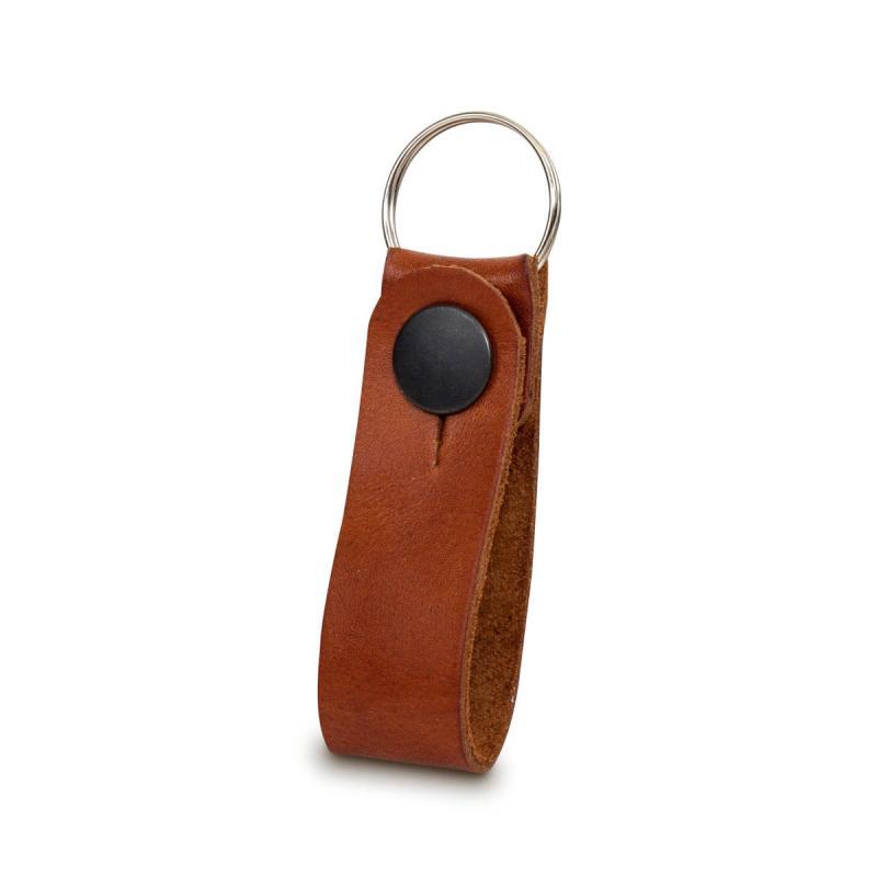 Leather keychain Baway