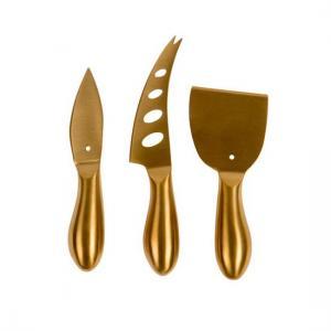 Guldiga Ostknivar Formaggio Gold Set 3 Nordisk Design - ByOn