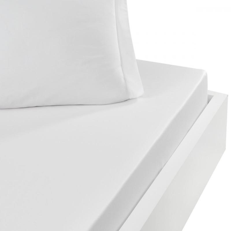 Dra-på-lakan SENSEI SOFT Blanc