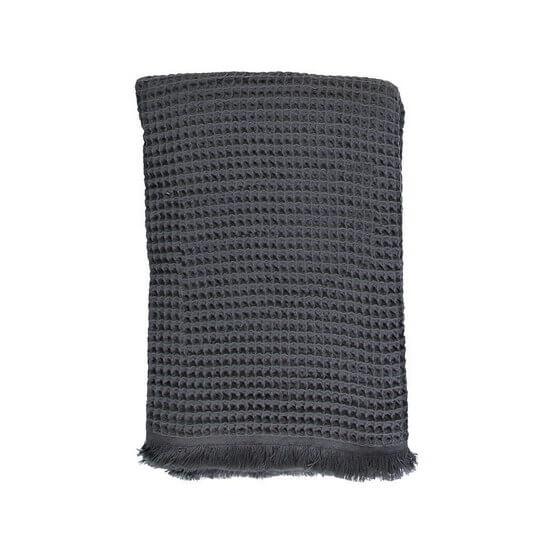 Towel - Blanket Dupduru Waffle 120x180 Charcoal Grey