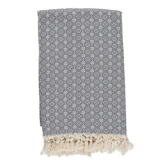 Throw Babuska Charcoal Grey 150x220 cm 100% Cotton