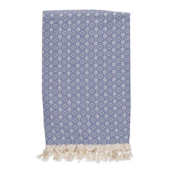 Throw Babuska Denim Blue 150x220 cm 100% Cotton