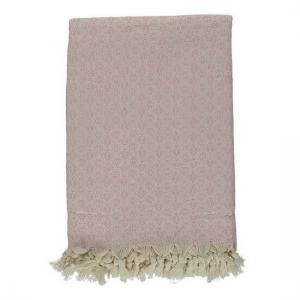 Pläd Överkast Babuska Powder Pink 150x220 cm 100% bomull