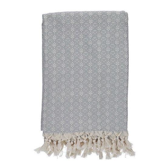 Throw Babuska Silver Grey 150x220 cm 100% Cotton