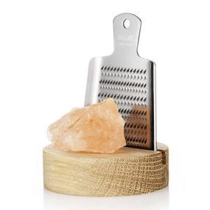RIVSALT Himalaya salt rock, grater and desk stand in a gift tube