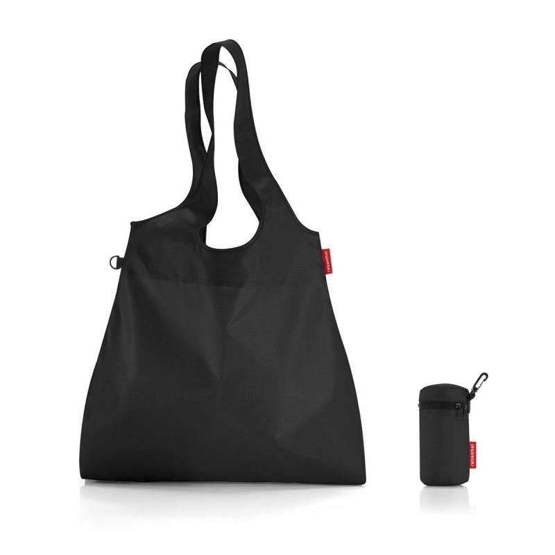 Set of 2 Mini maxi shopper L french black