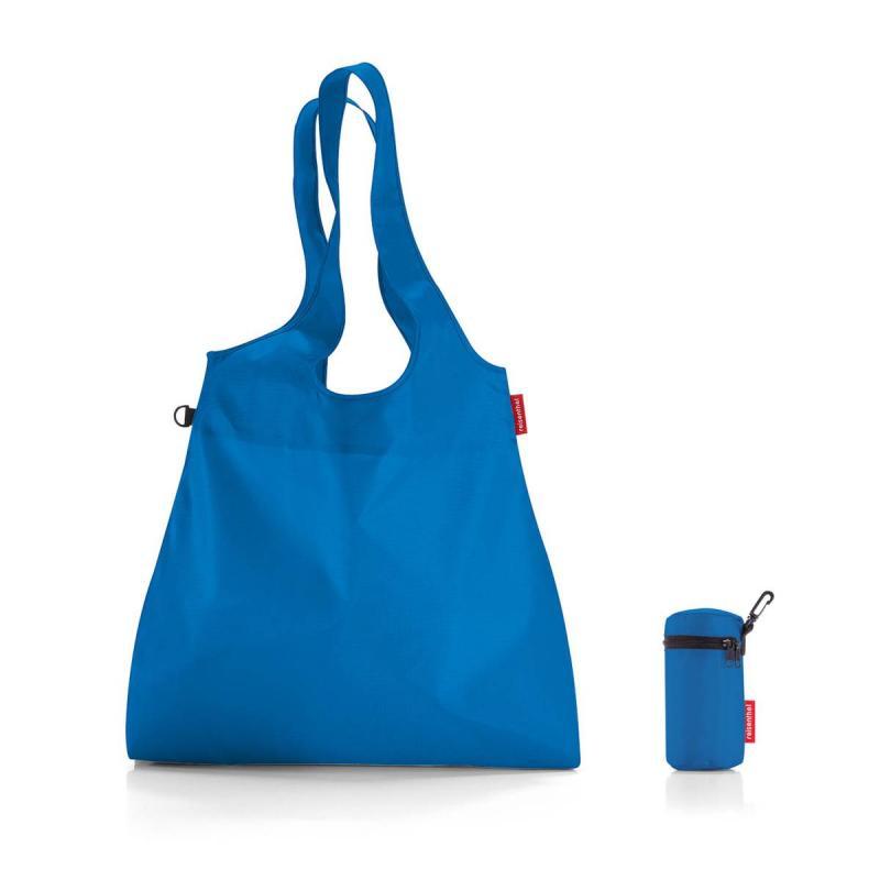 Set of 2 Mini maxi shopper L french blue