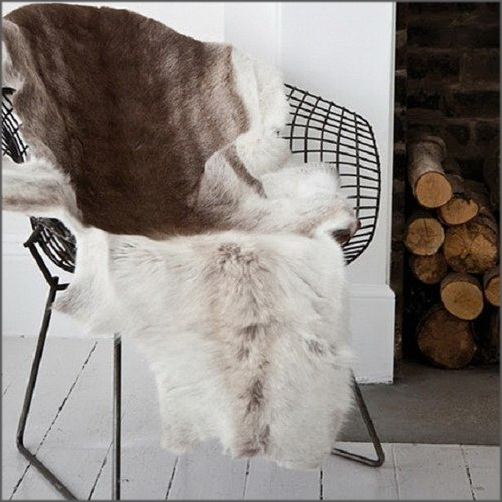 Billig Renskinn Renfäll för inomhusbruk eller under hästsadeln. Garvat i Sverige av KERO Leather från Nordiska Renar